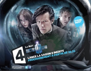 Nuit Doctor Who sur France 4