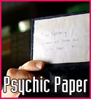 Cosplay Psychic Paper
