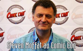 Steven Moffat au Comic Con 2011