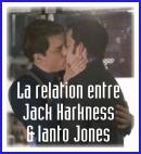 La relation entre Jack Harkness et Ianto Jones
