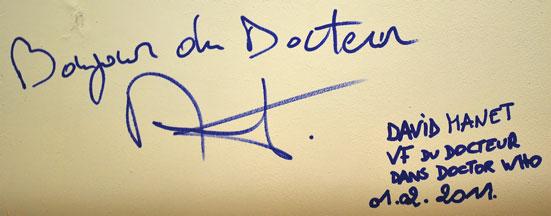 Autographe Manet