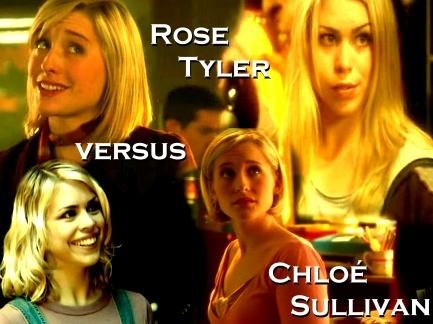 Rose Tyler vs. Chloe Sullivan