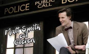 Matt Smith est Eleven