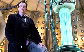 Russel in the Tardis