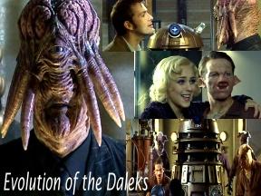 Evolution of the Dalek / Dalek Génétiquement Modifié