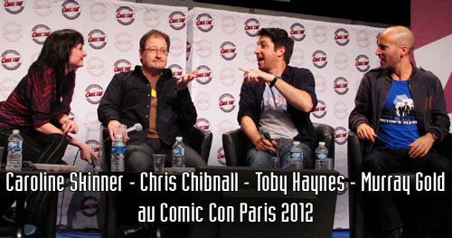 Murray Gold (compositeur), Toby Haynes (réalisateur), Caroline Skinner (productrice), Chris Chibnall (scénariste).