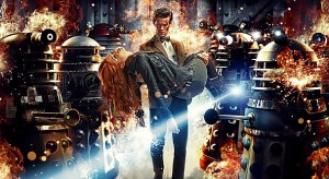 Eleven, Amy and Daleks