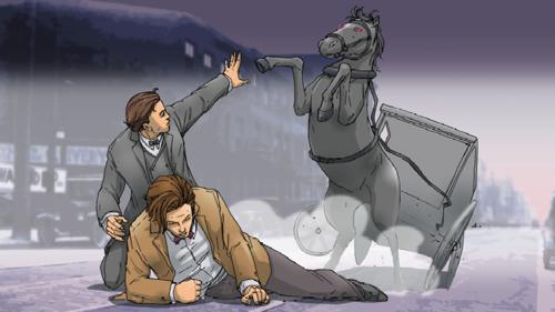 Le cheval emballé