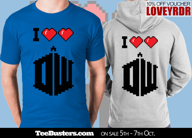ILoveLoveDoctorWho_Mens_Tee