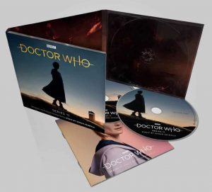 Doctor Who OST sleeve